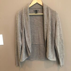 H&M Basics Cardigan Sweater Brown Small